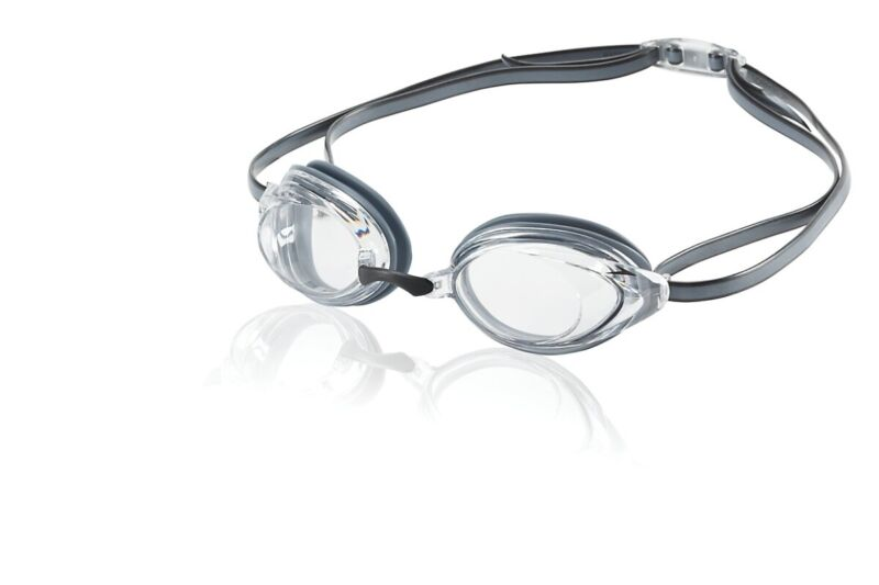 Speedo Vanquisher 2.0 Adult Competitive Swim Goggle, Clear