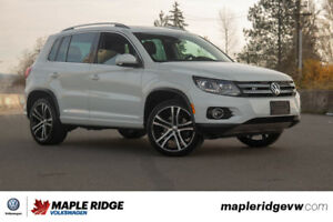 2017 Volkswagen Tiguan - ALL-WHEEL DRIVE, NAVIGATION, LEATHER