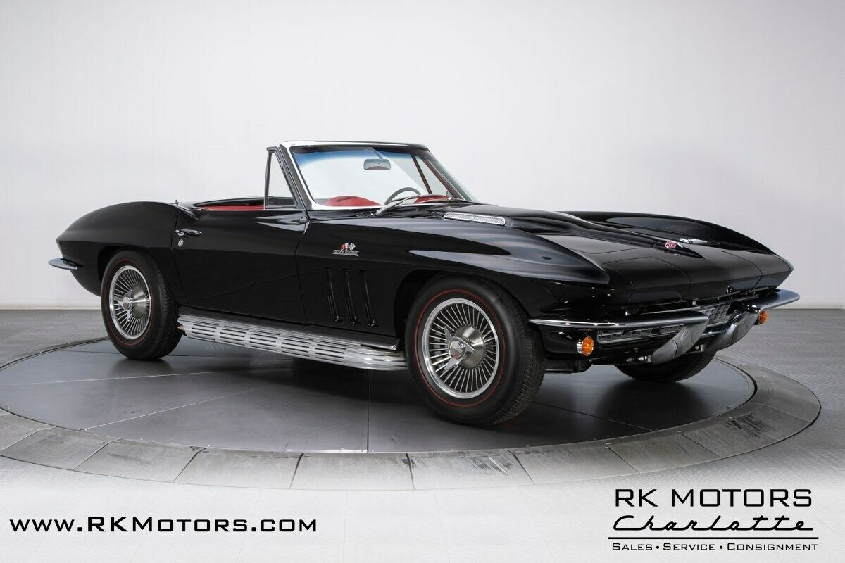1966 Black Chevrolet Corvette   | C2 Corvette Photo 9
