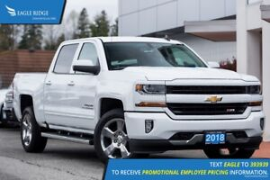 2018 Chevrolet Silverado 1500 Backup Camera, Bumper Step, Pow...
