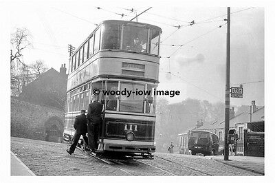 pt8935 - Sheffield Tram no 111 to Walkley - photograph 6x4
