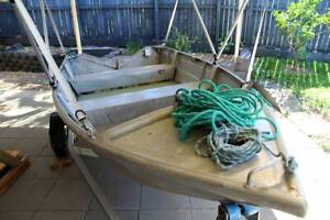 Tinny 3m(10ft) and Trailer for sale