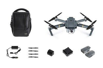 DJI Mavic Pro Fly More Combo Quadcopter with 4K HD Camera (DJI Refurbished)