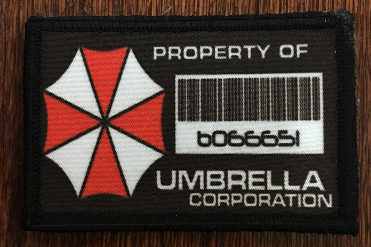 Resident Evil Property of Umbrella Corp Morale Patch