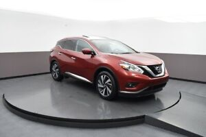 2016 Nissan Murano PLATINUM AWD LEATHER, SUNROOF, NAVIGATION AND
