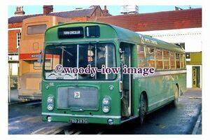 pu0703 - United Counties Bus no 283 at Biggleswade in 1982 - photograph