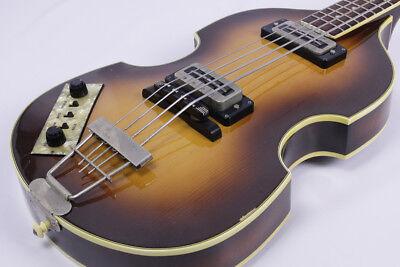 Hofner 500/1 1970s lefty Bass Guitar Vintage Excellent japan F/S