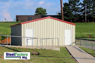 Steel Factory Mfg Prefab 20x30x10 Beam Frame Garage Building Low Cost Diy Kit