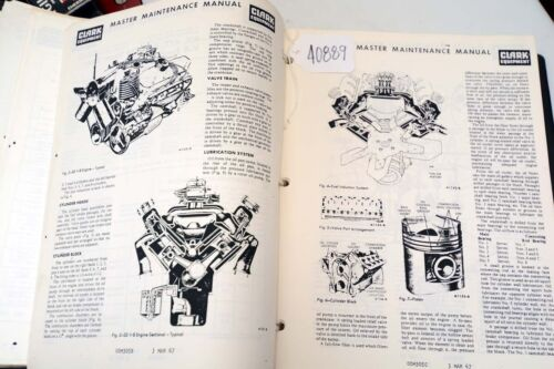 Clark c500 Master Maintenance Manual (Inv.40889)
