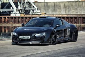 PRIOR-DESIGN-AUDI-R8-GT-WIDE-BODY-KIT-HOOD-FRONT-REAR-BUMPERS-SPOILER-DIFFUSER