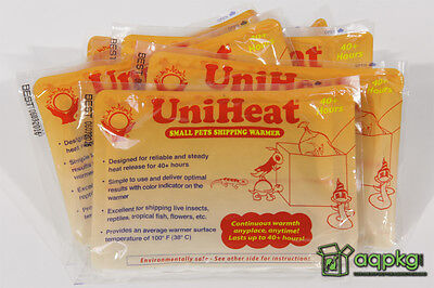 20 - UniHeat 40 Hour Shipping Warmers - Disposable Heat Packs - Fresh & 40 HR