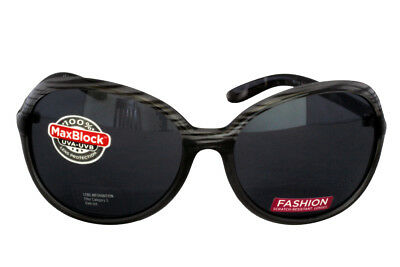 Foster Grant Delfina Grau FG77 Damen Abgerundete Quadrat Kunststoff-Sonnenbrille