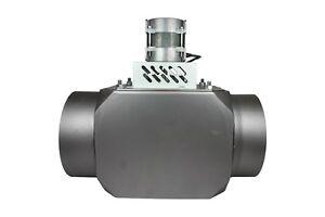 Abzugventilator, Abgasventilator, Rauchabzugventilator 130 mm Durchmesser