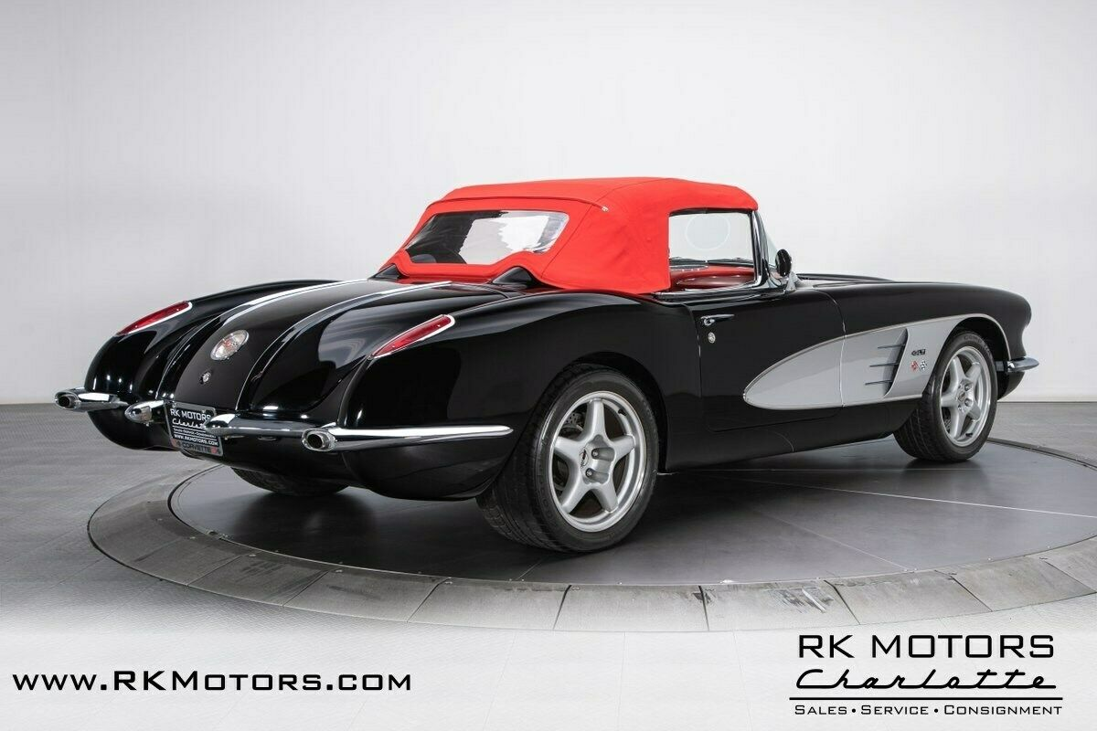 1958 Black Chevrolet Corvette   | C1 Corvette Photo 8