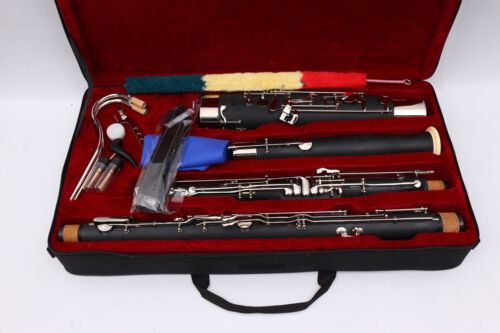 Yinfente Advanced Bassoon C tone Synthetic wood Sweet Tone Free Case