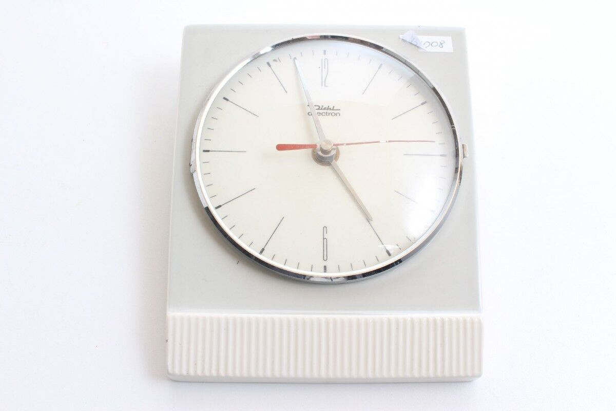 Watch Wall Clock Kitchen Watch Diehl Dilectron Battery-Powered 957/2120