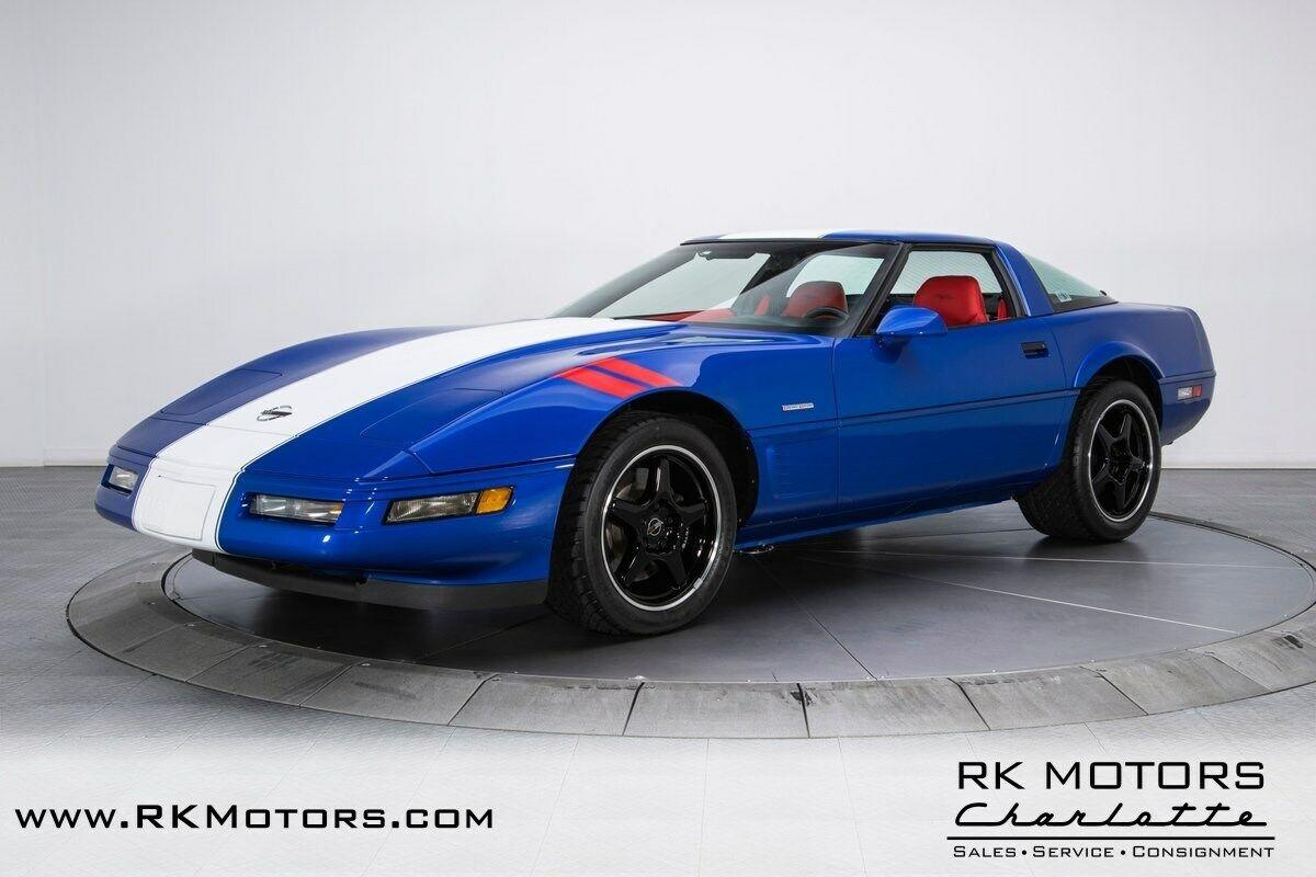 1996 Blue Chevrolet Corvette Grand Sport  | C4 Corvette Photo 7