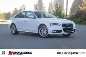 2015 Audi A4 - ALL-WHEEL DRIVE, LEATHER, SUNROOF