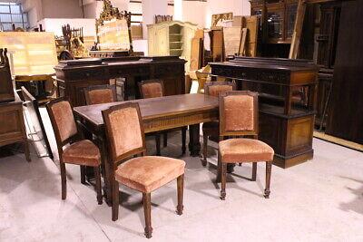 Prestigious Dining Room Or Meetings/Wood Walnut/Beginning Of 800