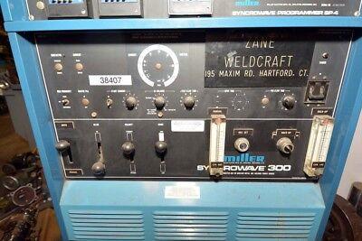 Miller Syncrowave 300 Welder With Syncrowave Programmer Sp-4 Inv.38407