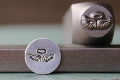 SUPPLY GUY 9mm Fallen Angel Metal Punch Design Stamp SGCH-136