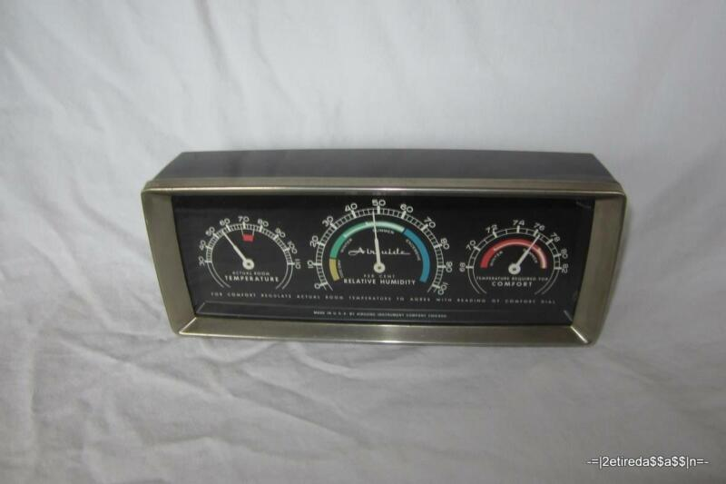 VTG Airguide Instrument Company Desk/Indoor Temperature Humidity Thermometer