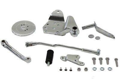 Complete Chrome Forward Control Shift Kit Custom Harley Pan Shovel Head 22-0801