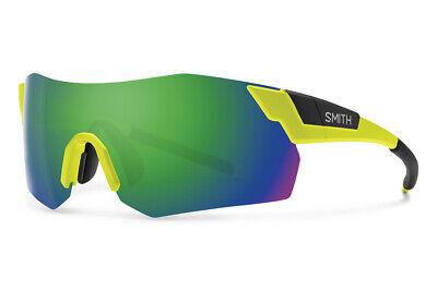 f6e5045771b Smith Cycling Glasses Pivlock Arena MAX Matte Acid Yellow Chromapop 2 lens  kit