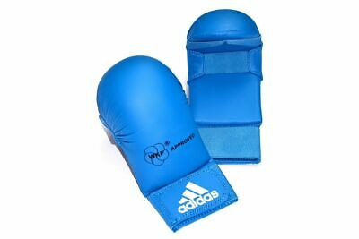 Wkf Karate Mitt - Adidas Karate Mitts WKF Sparring/Karate/Martial Arts/TKD - Red or Blue