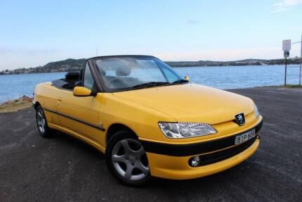 Peugeot 306 Convertible Cabriolet 2001 Automatic Yellow