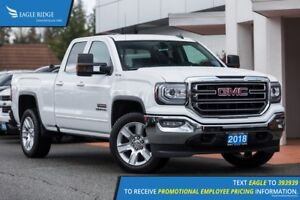 2018 GMC Sierra 1500 SLE Backup Camera, Bumper Step, Nav