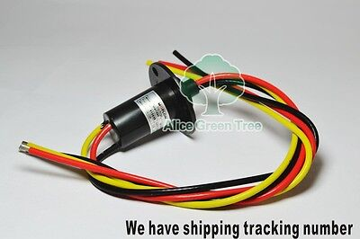 1pcs 3 Wires 30a 250rpm 380 Vdcvac Wind Generator Slip Ring For Wind Turbine