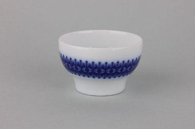 Kleiner Leuchter Kerzenhalter  mit blauem Band Thomas Porzellan