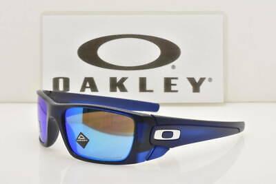 Oakley Fuel Cell Sunglasses OO9096-K160 Matte Translucent Blue W/ PRIZM Sapphire