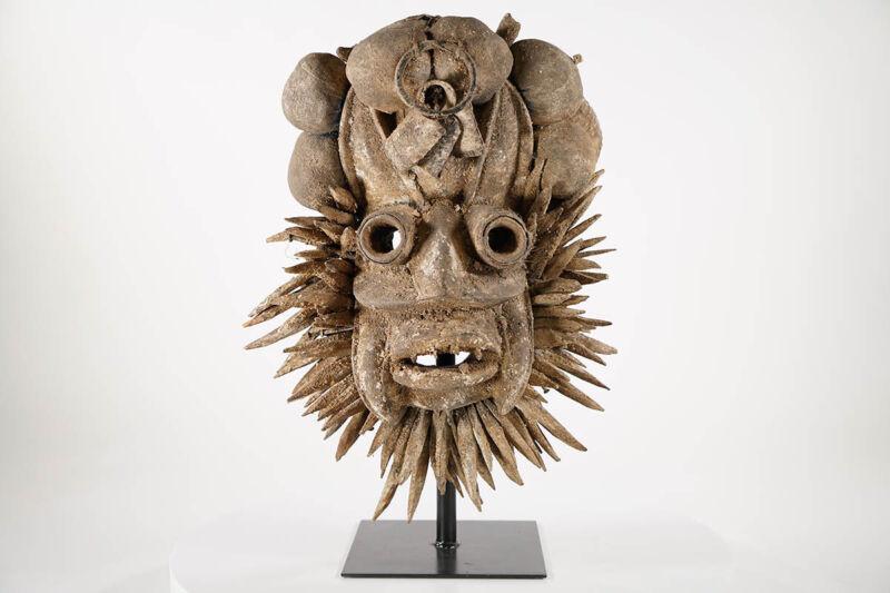 "Intriguing Dan Guere African Mask 20"" - Ivory Coast"