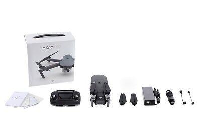 DJI Mavic Pro Gimbal Stabilized 12MP 4K Camera Drone Quadcopter & Accessories