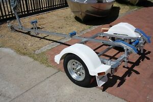 TINNY TRAILER SUIT UP TO 4M BOAT Wangara Wanneroo Area Preview
