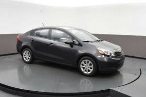 2015 Kia Rio LX GDi SEDAN w/ BLUETOOTH, HEATED SEATS, A/C & USB