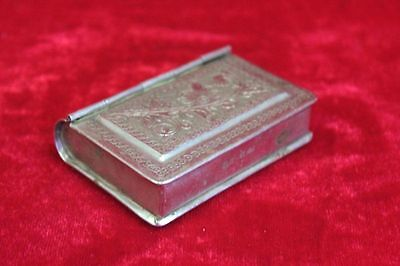 Brass Small Case Box Old Vintage Decorative Collectible PM-25