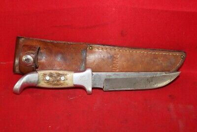 RUANA KNIFE CO. 2 Pin W/Sheath Vintage Hunting (CP1052114)