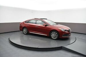 2015 Hyundai Sonata SPORT SEDAN w/ ALLOYS, PANORAMIC SUNROOF, BL