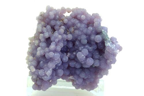 Grape Agate Crystal Mineral Quartz Indonesia Hundreds of Nodules Lavender Purple