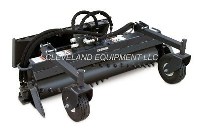 New 48 Soil Conditioner Harley Rake Attachment - Bobcat 463 S70 Mini Skid Steer