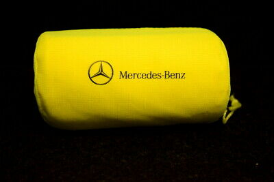 Car Parts - GENUINE MERCEDES HIGH VISIBILITY WARNING VEST JACKET WITH BAG XL NEW A0005833500