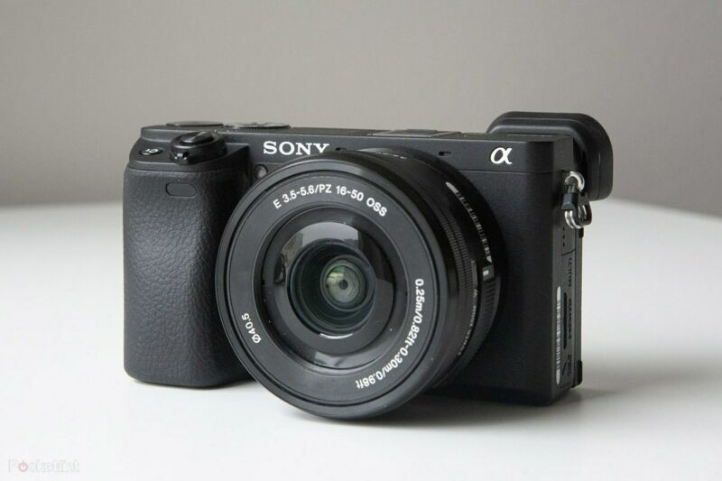 Sony Alpha a6400 Mirrorless Digital Camera with 16-50mm Lens