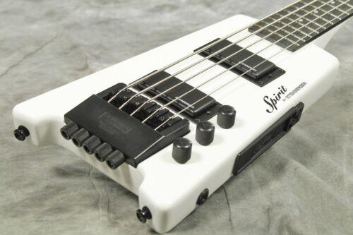 Steinberger Spirit Xt-25 White 5 String Headless Electric Bass