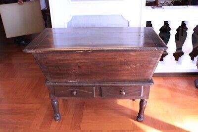 Sideboard Original Antique/Piedmont/1870 About / Wood Walnut