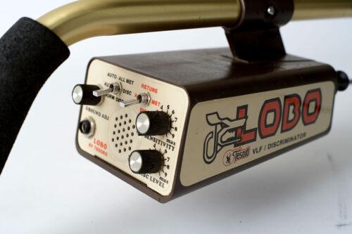 Tesoro Lobo Metal Detector for gold nuggets