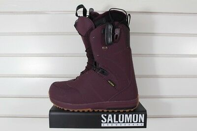 9314de738a67 New 2018 Salomon Ivy Snowboard Boots Womens 7.5 Bordeaux