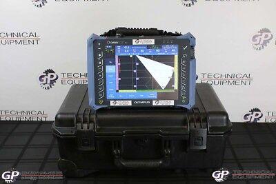 Olympus Omniscan Mx2 16128 Ultrasonic Phased Array Flaw Detector Panametrics Ut